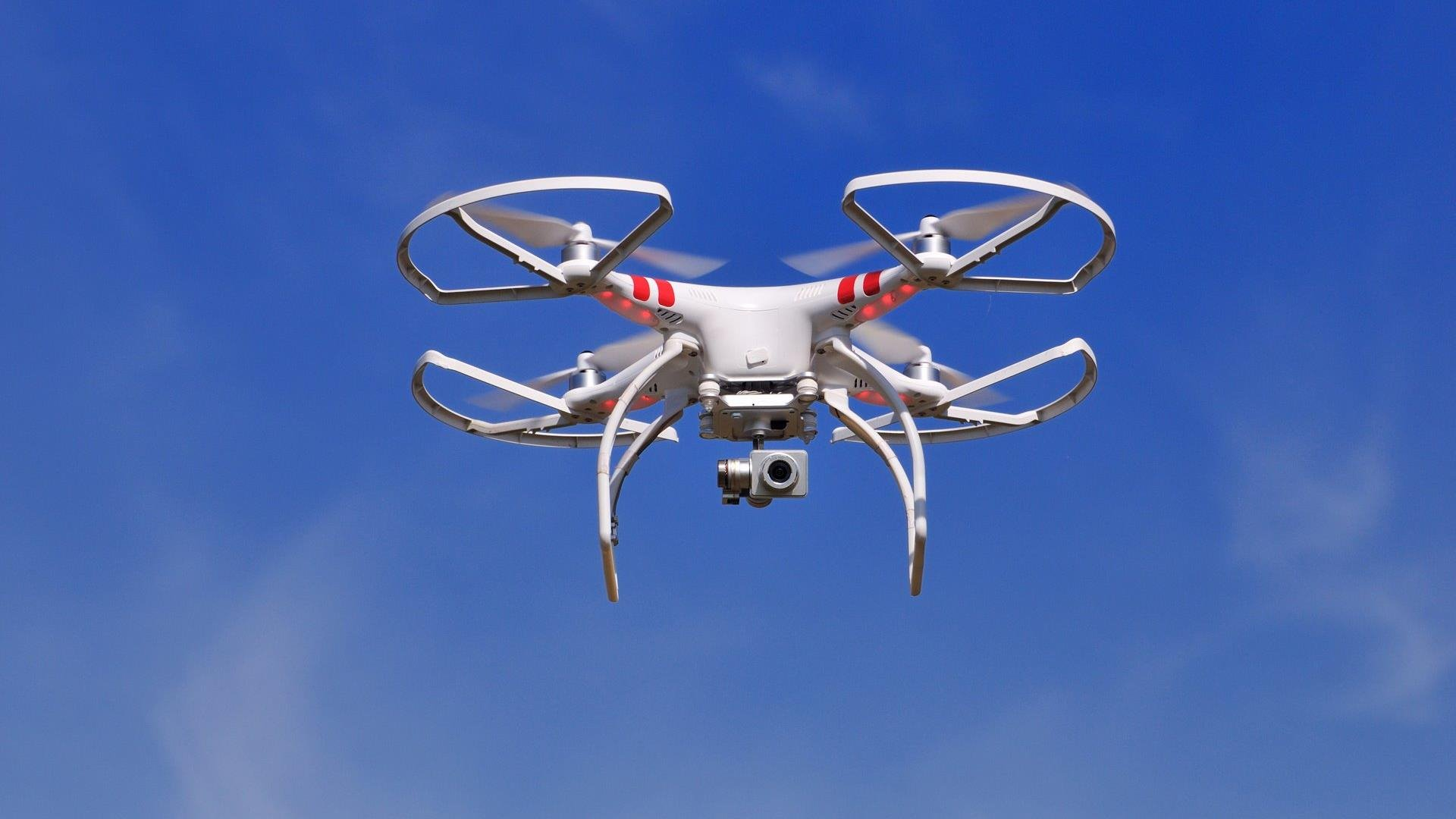 Using drones to mitigate pollution losses